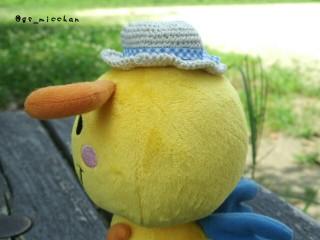 分身くん夏帽子